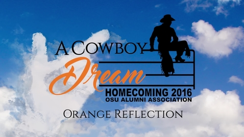 Thumbnail for entry Homecoming 2016: Orange Reflection