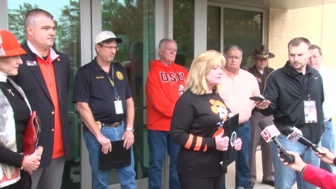 Thumbnail for entry Stillwater Mayor Gina Noble Statement Regarding Tragic Event During OSU Homecoming Parade