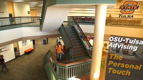 Thumbnail for entry OSU-Tulsa Advising - The Personal Touch