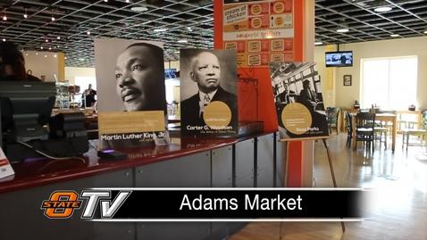 Thumbnail for entry Adams Market Celebrates Black History Month