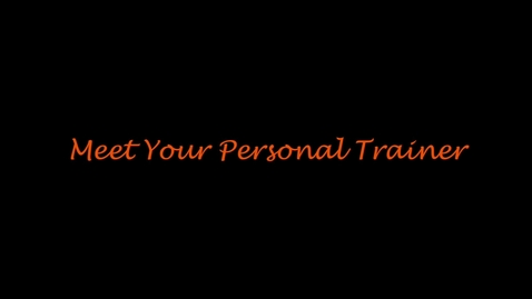 Thumbnail for entry Meet Your Personal Trainer: Holden Harper