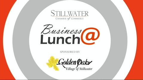 Thumbnail for entry January 2018 Stillwater Chamber of Commerce Business@Lunch:  OSU Baseball Head Coach Josh Holliday