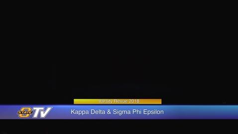 Thumbnail for entry Varsity Revue 2018:  Kappa Delta & Sigma Phi Epsilon
