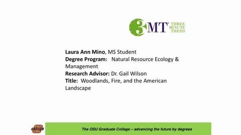 Thumbnail for entry 2016 OSU 3MTâ Finals Presentation: Laura Mino