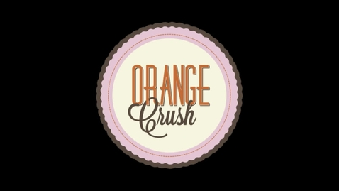 Thumbnail for entry ORANGE CRUSH: Joy Fieldsend