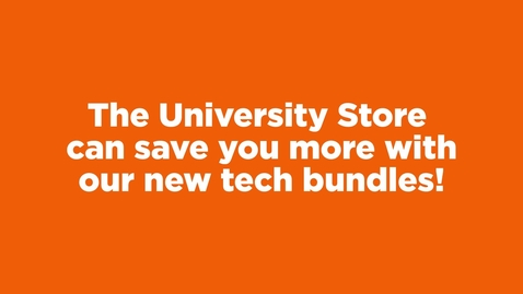 Thumbnail for entry Bundle & Save with the University Store!