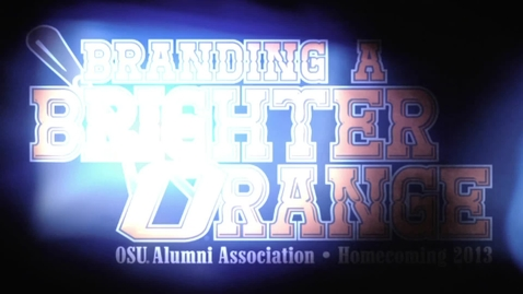 Thumbnail for entry Homecoming 2013: Executive Team Introductions