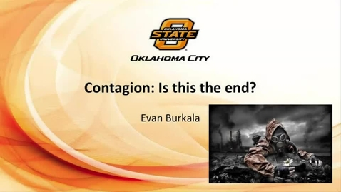 Thumbnail for entry Contagion-Is This the End