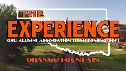 Thumbnail for entry Homecoming 2014: Orange Fountain