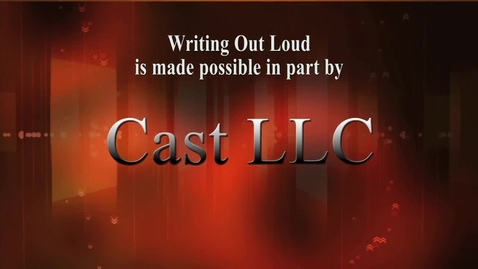 Thumbnail for entry Writing Out Loud: Pamela Olson (Original air date 1/13/2014