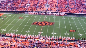 Thumbnail for entry COWBOY MARCHING BAND: OSU/Kansas State Halftime Performance