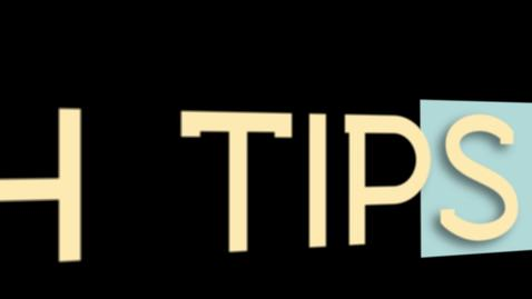 Thumbnail for entry Tech Tips: Snip Tool