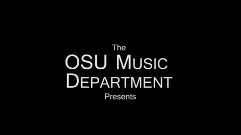 Thumbnail for entry OSU President's Masterworks Concert 2014