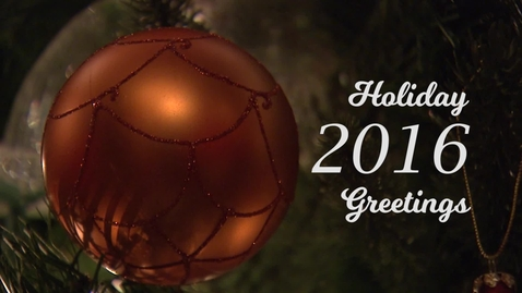 Thumbnail for entry Happy Holidays From Oklahoma State University