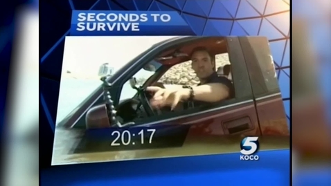Thumbnail for entry IN THE NEWS: Seconds to survive during flash flooding on KOCO in OKC