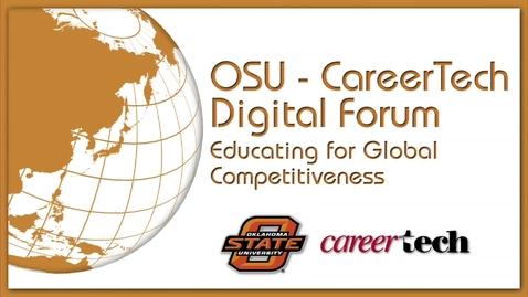 Thumbnail for entry OSU-Career Tech Digital Forum
