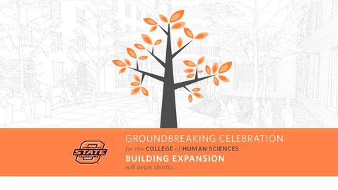 Thumbnail for entry WATCH:  Human Sciences Groundbreaking Ceremony
