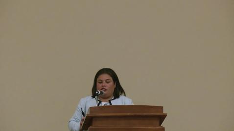 Thumbnail for entry Dr. Cammi Valdez 2019 OK-LSAMP Symposium Keynote Speaker