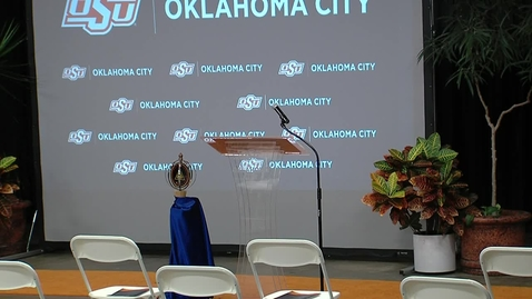 Thumbnail for entry OSU OKC 2021 Commencement Ceremonies--Human Services