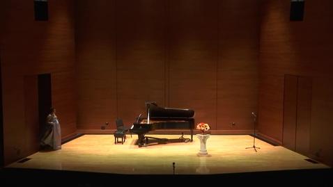 Thumbnail for entry Greenwood School of Music Senior Recital: Amanda Barber
