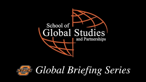 Thumbnail for entry Global Briefing Series: Henry McLeish