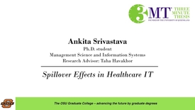 Thumbnail for entry 2018 3 Minute Thesis Finals: Ankita Srivastava