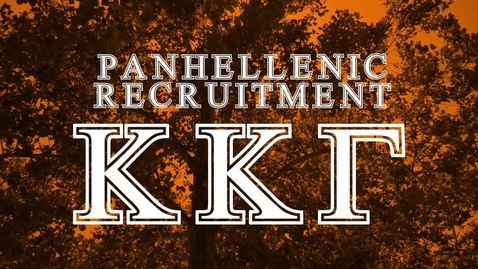 Thumbnail for entry Panhellenic House Tour - Kappa Kappa Gamma
