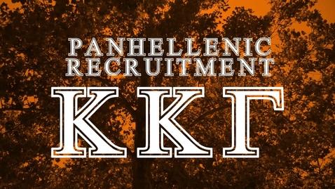 Thumbnail for entry Panhellenic House Tour - Kappa Kappa Gamma