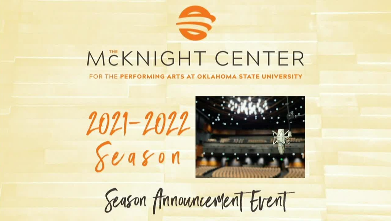McKnight Center for the Performing Arts Season 3 Announcement