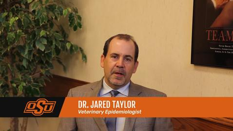 Thumbnail for entry Vet Med Faces of Research: Dr. Jared Taylor