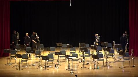 Thumbnail for entry Greenwood School of Music- Trombone Ensemble