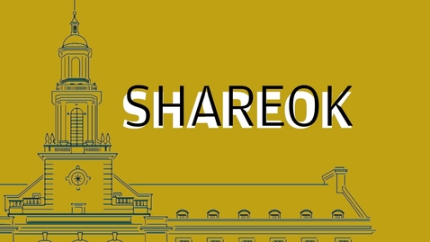 Thumbnail for entry ShareOK at Oklahoma State University Libraries: Discoverability