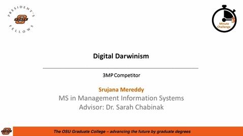 Thumbnail for entry 2018 3MC Finals - Digital Darwinism