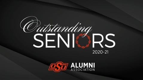 Thumbnail for entry 2021 Outstanding Seniors Award Ceremony