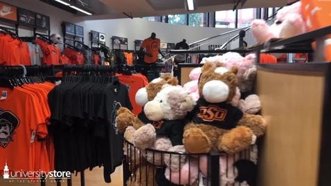 Thumbnail for entry University Store Children's Merchandise
