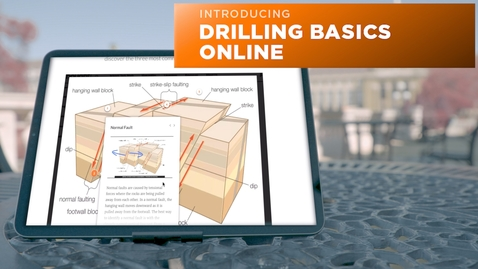 Thumbnail for entry Introducing Drilling Basics Online