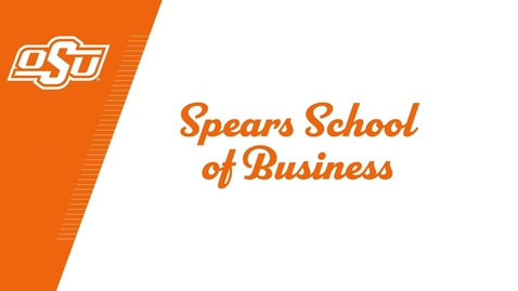 Thumbnail for entry Spears School of Business Celebrates the Class of 2020!