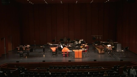 Thumbnail for entry Greenwood School of Music Percussion Concert