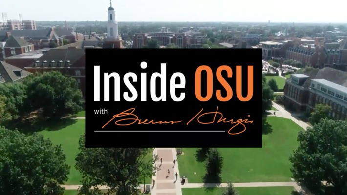 Inside OSU With Burns Hargis:  Winston Churchill's Granddaughter