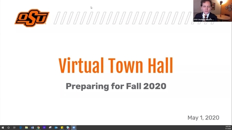 Thumbnail for entry Virtual Town Hall