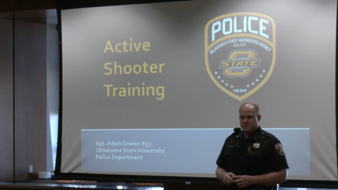 Thumbnail for entry The Staff Advisory Council Presents: Active Shooter Training