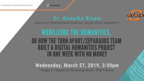 Thumbnail for entry Mobilizing the Humanities with Dr. Roopika Risam