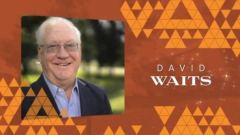 Thumbnail for entry Honors Champion: David Waits