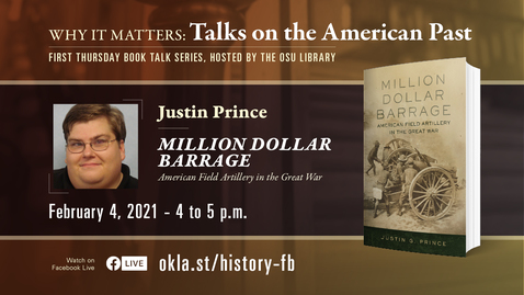 Thumbnail for entry Why It Matters: Talks on the American Past featuring Justin Prince