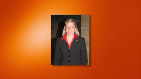 Thumbnail for entry Carly Schnaithman - 2012 Outstanding Senior