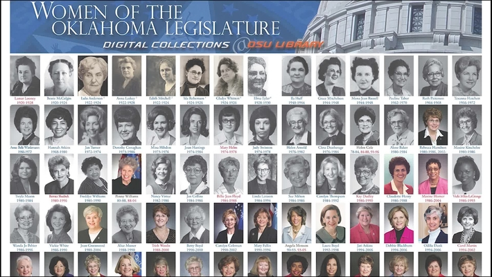 The Women of the Oklahoma Legislature
