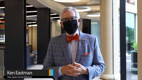 Thumbnail for entry Dean Eastman explains new  protocols for Business Building
