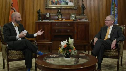 Thumbnail for entry OSU President Burns Hargis Speaks to the Stillwater Chamber of Commerce