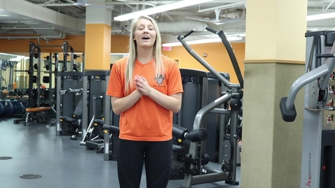 Thumbnail for entry Trainer Talk Tuesday -  Seretean Wellness Center