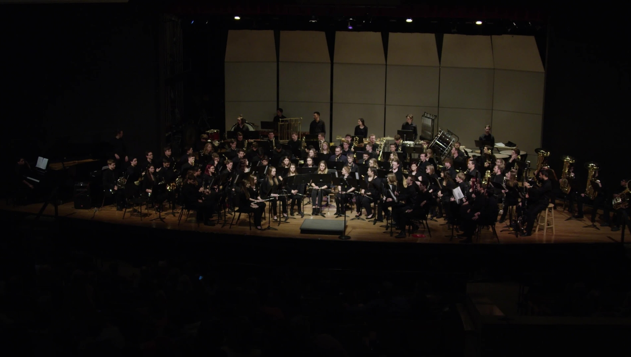 March 2019 Concert Band Performance